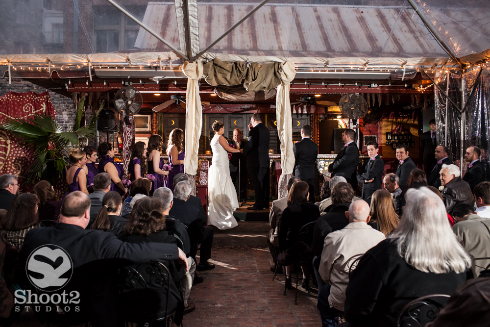 wedding at the house of blues