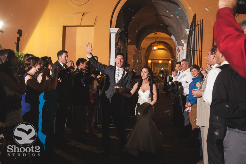 columbus wedding bubbles