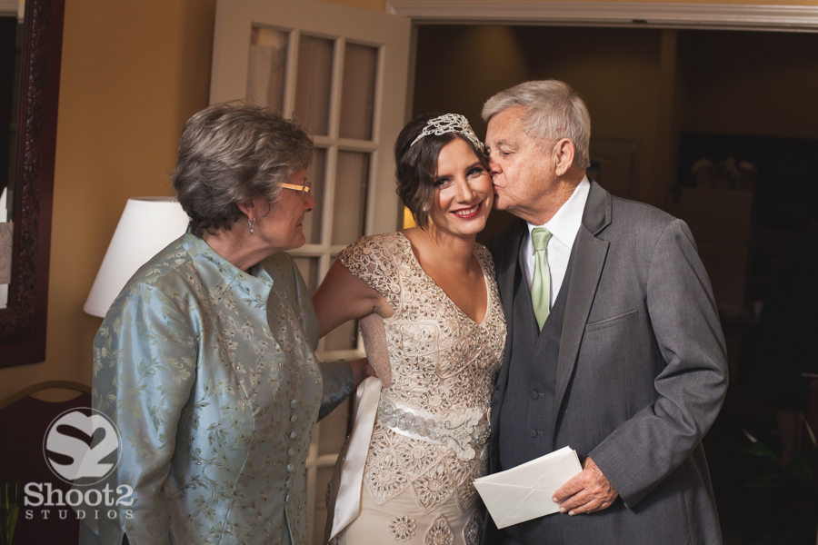 parents with bride