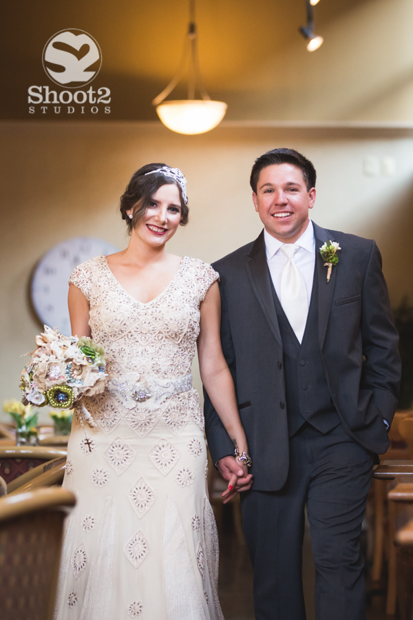 classy wedding portrait