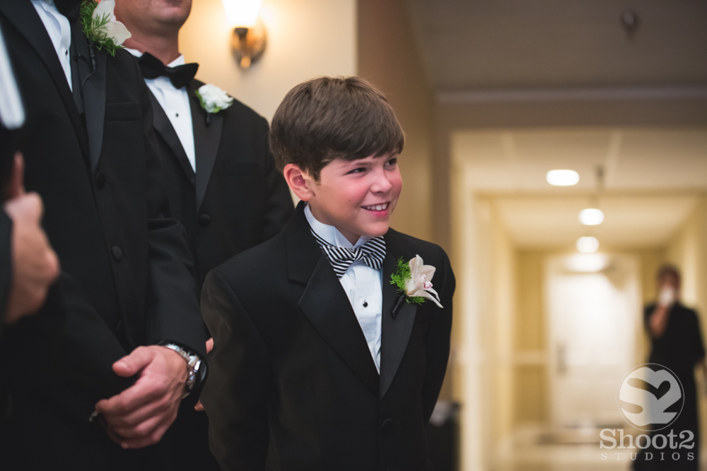 son sees bride
