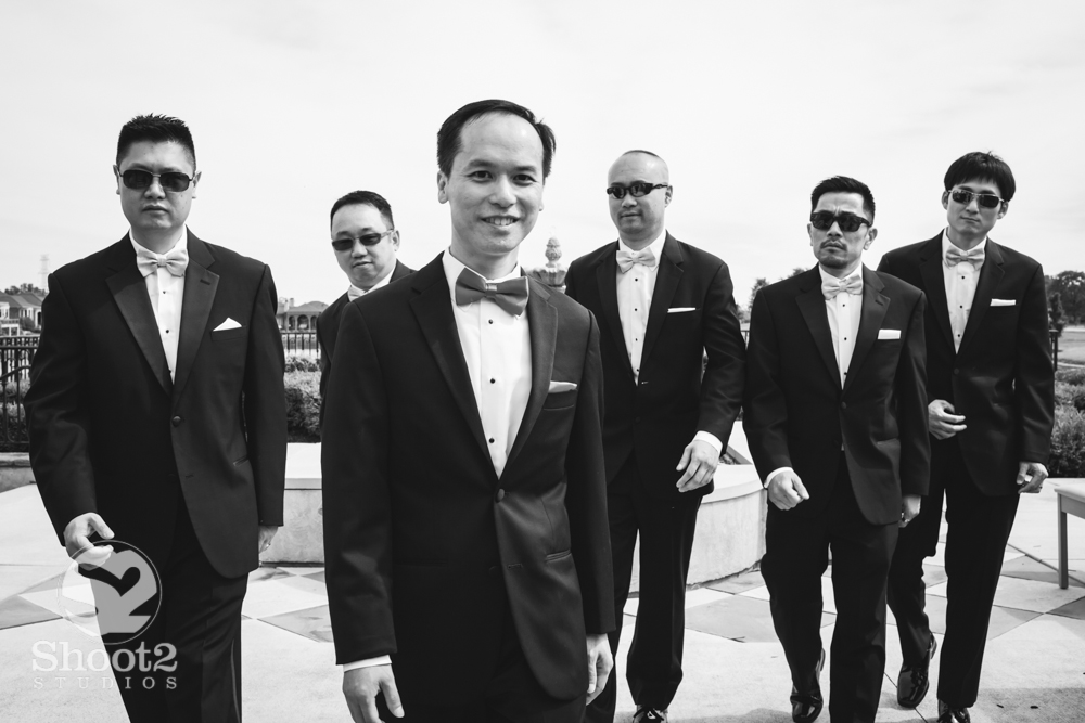 gangster groomsmen
