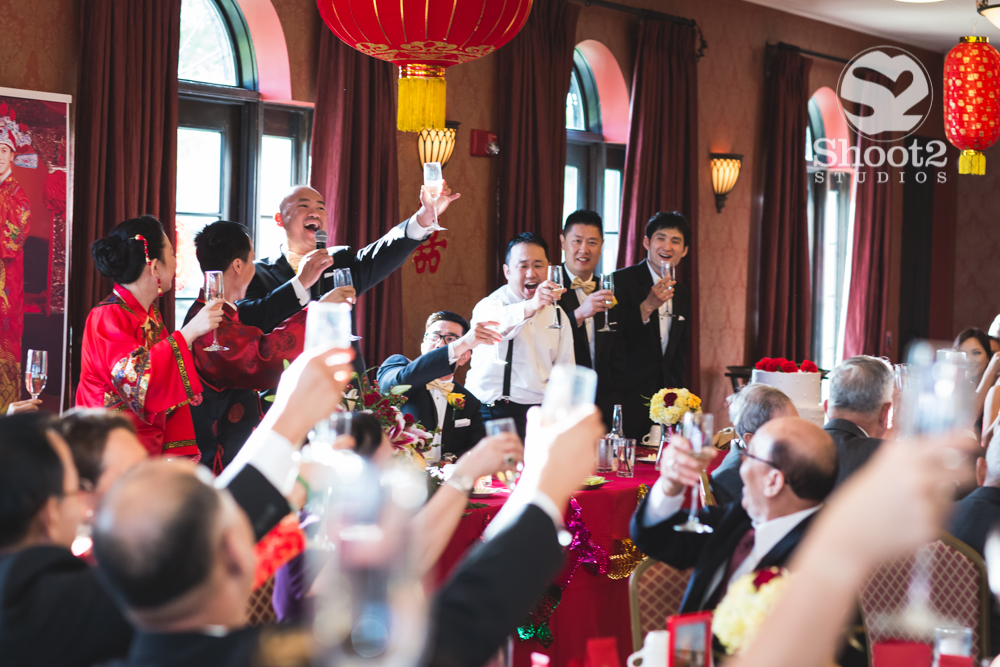 asian wedding toast