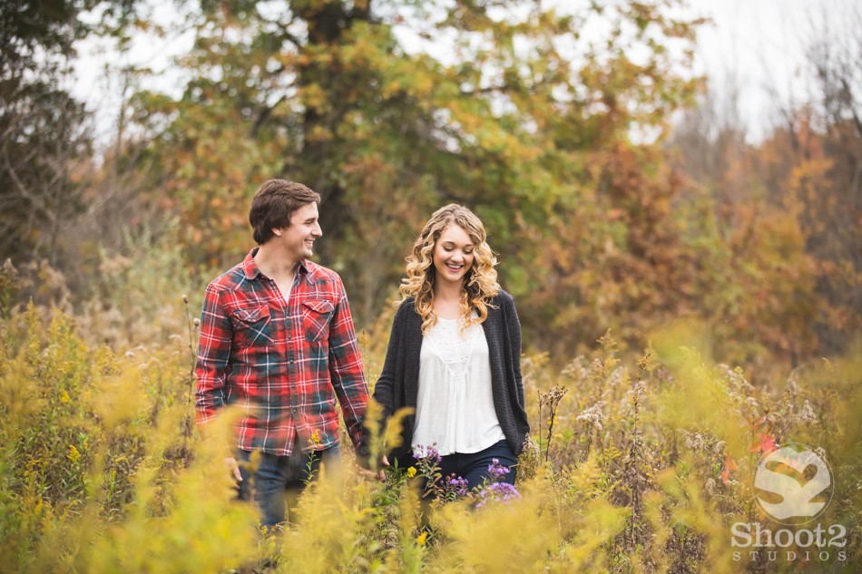 highbanks engagement shoot