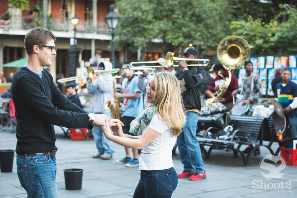 dancing in jackson square