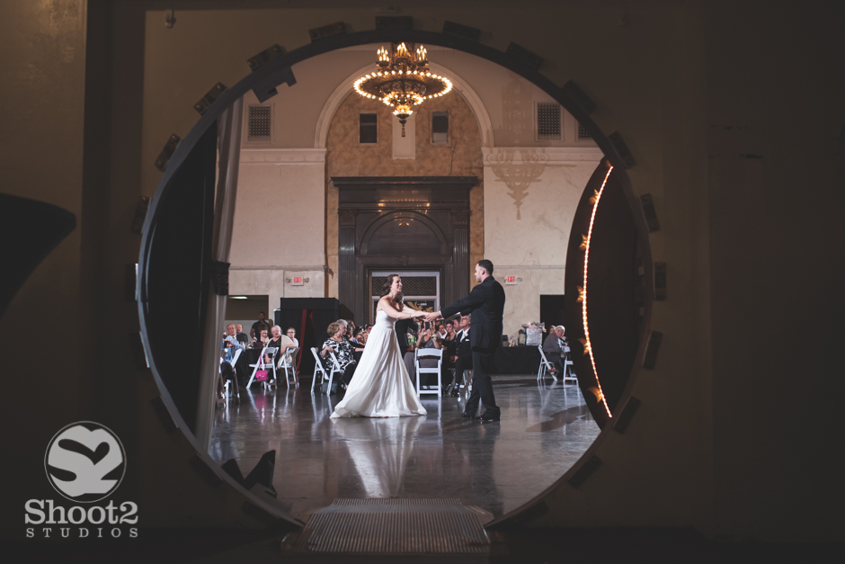 the vault wedding