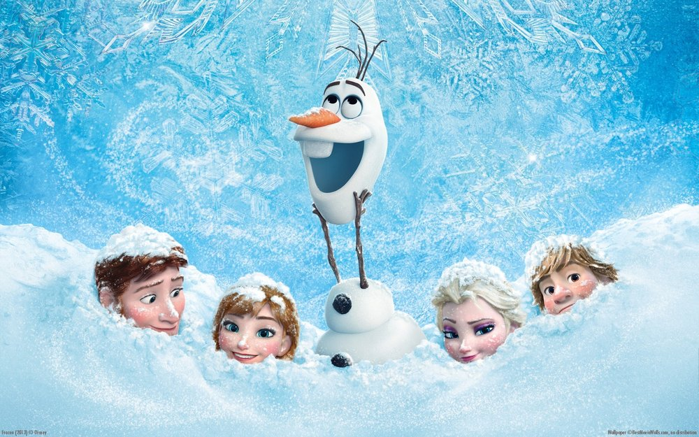 Frozen Christmas With Elsa And Anna