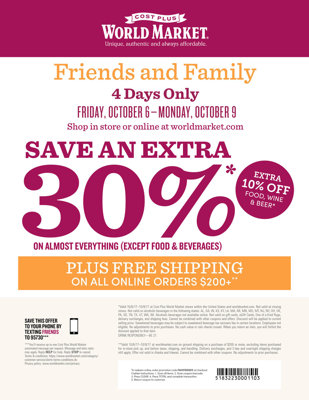 Click for printable coupon