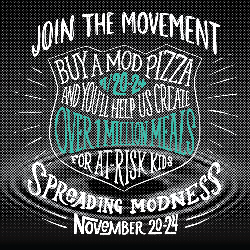 Spreading MODness MOD PIZZA Bella Terra