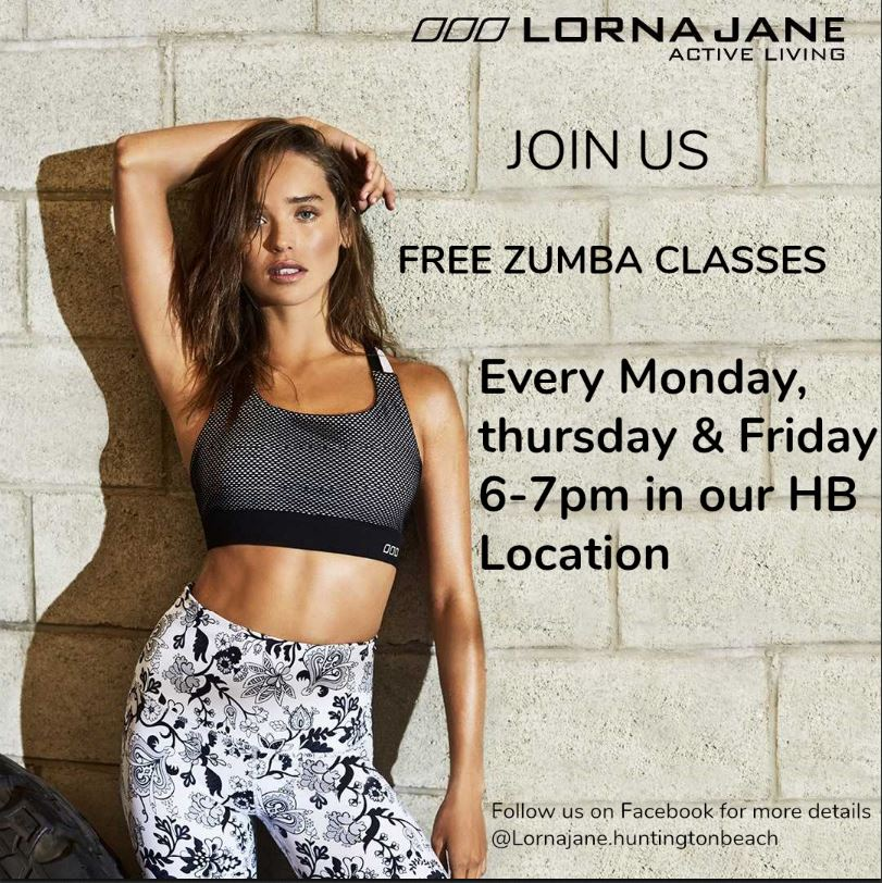 Lorna Jane Free Zumba Classes.JPG