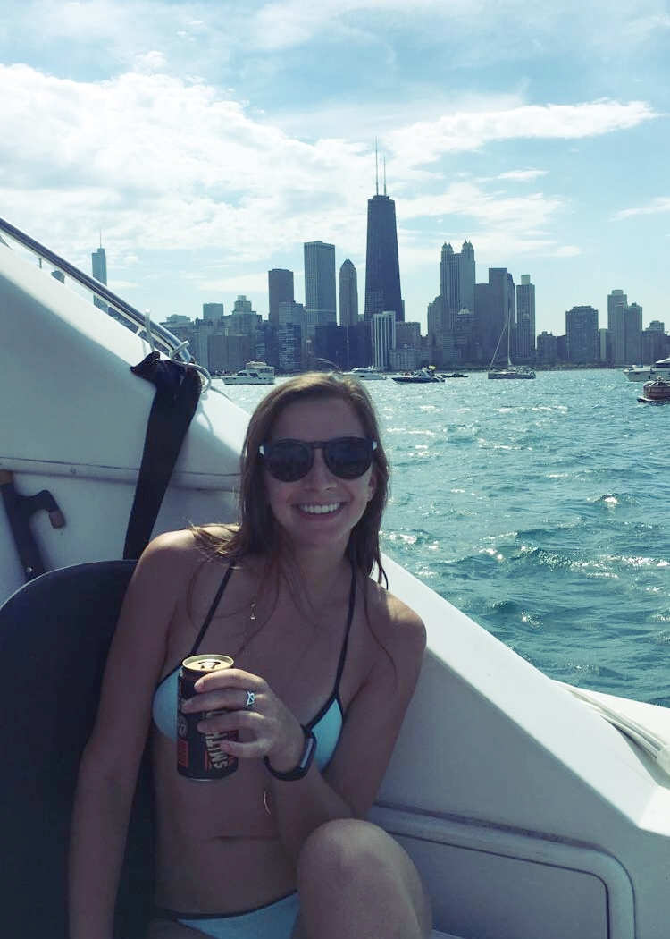 My happy place: summer, boats, airplanes, city, water, cider.