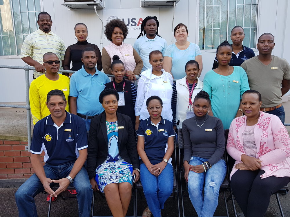 STREAM study team at King Dinuzulu Hospital in Durban, South Africa.