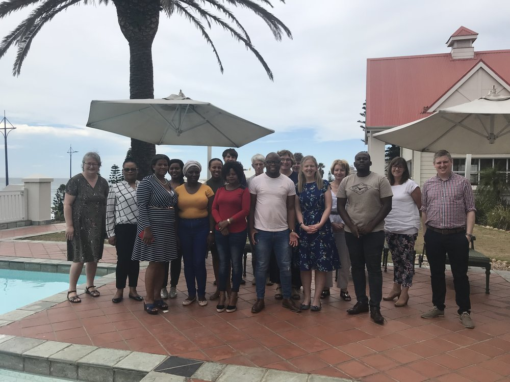 Empilweni hospital and STREAM trial staff participate in capacity building training
