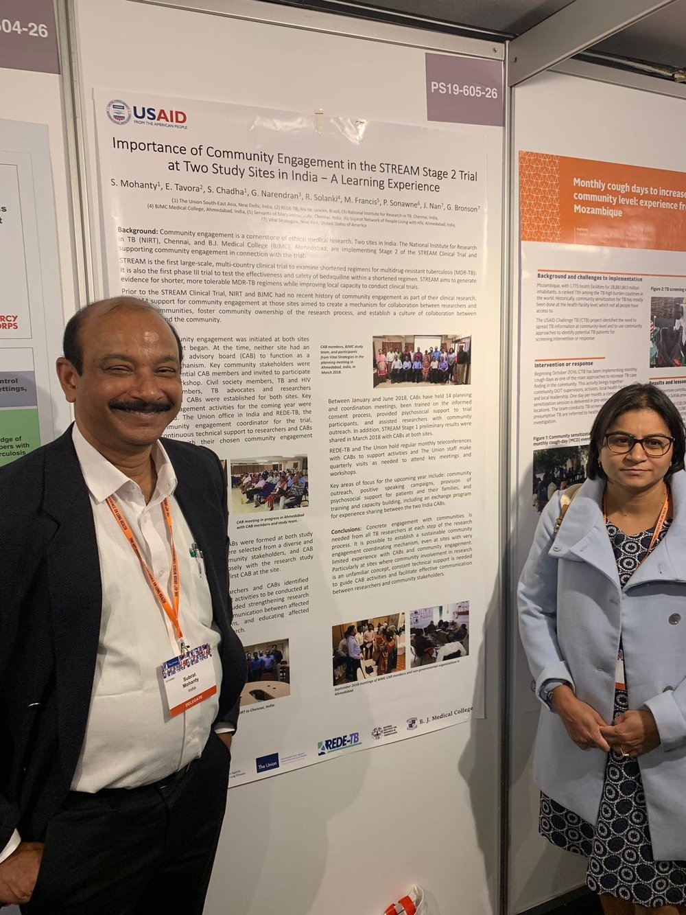 Subrat Mohanty and Purnima Jolly discuss STREAM Community Engagement at this year's World Conference on Lung Health.