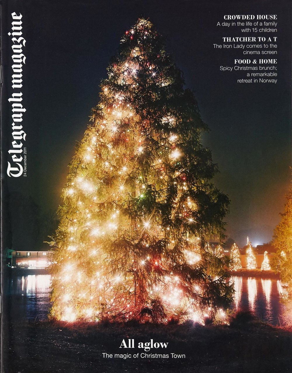 All Glow/Cover - Telegraph Magazine