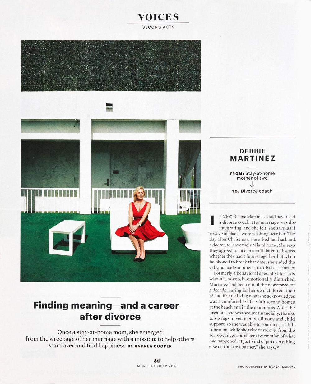 Debbie Martinez/Second Acts - MORE Magazine