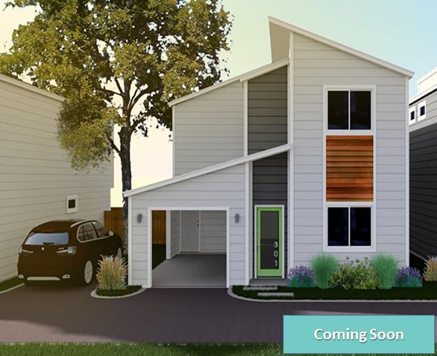 315 Grove Avenue - Unit 301 San Antonio 78210                       Roosevelt Park New Construction.  1539 sf  3 Br / 2.5 Ba  Carport + 1 additional parking