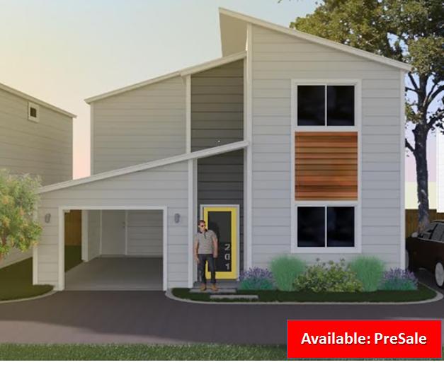 315 Grove Avenue - Unit 201 San Antonio 78210            $335,000  Roosevelt Park New Construction.  1539 sf  3 Br / 2.5 Ba  Carport