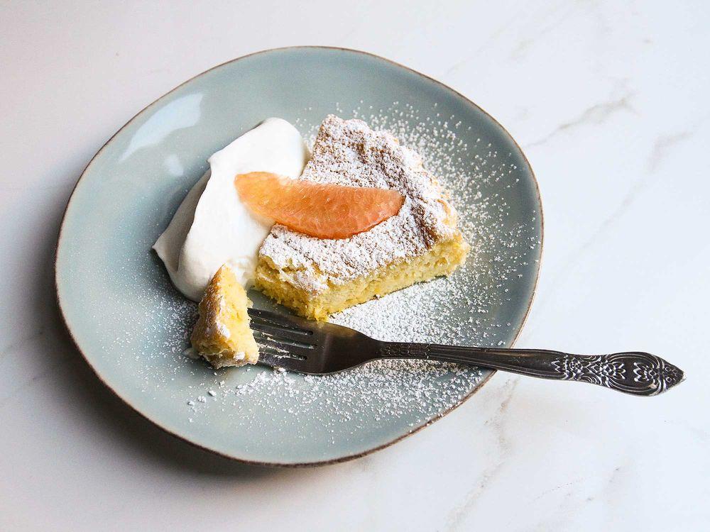 Pomelo & Mezcal Chiffon Cake