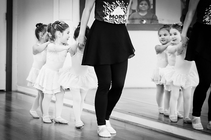 Tiny Tots - This class is for 2-3 years old children.Time: 2:30-2:50.Location: This class will take place in Studio C.