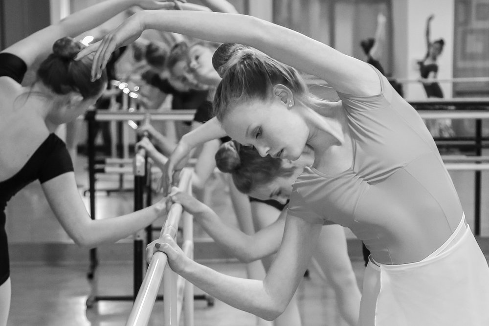 Ballet Essentials - The class for 11+ year old children.Time: Tuesdays, 7:00 - 8:00.