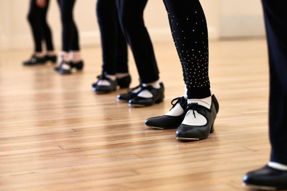 Tap 1 - The class for 7+ year old children.Time: Mondays, 5:00 - 6:00.
