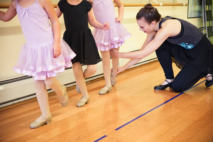 Intro to Tap - The class is for 5+ years old children.Time: 4:00-4:20.Location: This class will take place in Studio C.