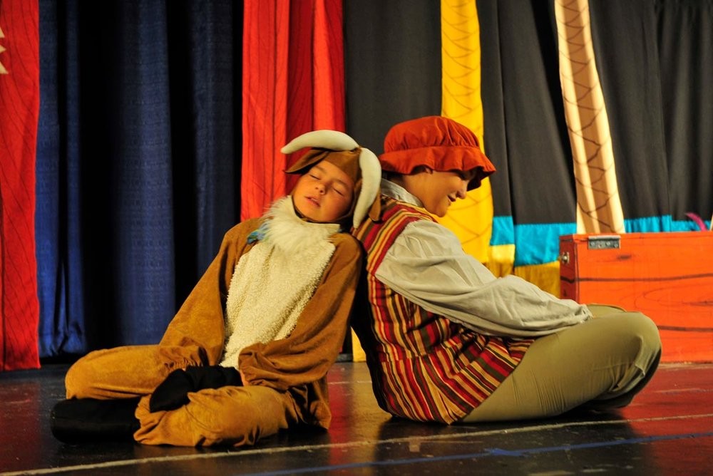 Creative Drama - The class is for 4+ years old children.Time: 11:30-11:50.Location: This class will take place in Studio C.
