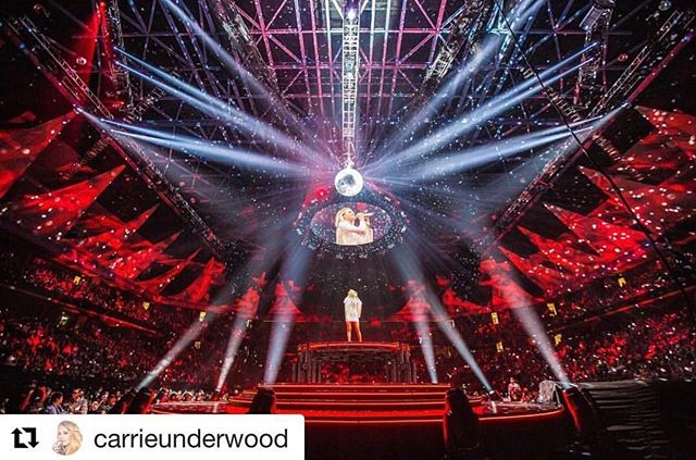 We did some video content design for this tour, if you like #carrieunderwood check it out! Repost @carrieunderwood ・・・ #TheStorytellerTour Live from @TheGarden! Stream or download now:  http://strm.to/StorytellerLive -TeamCU
