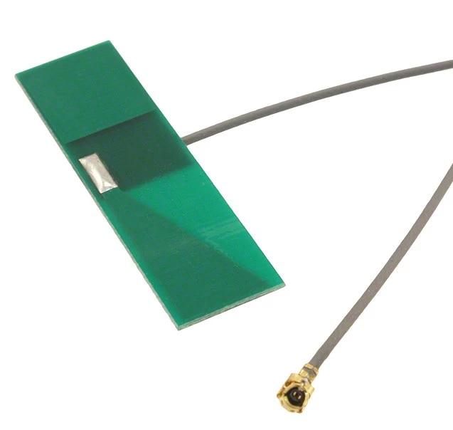A commercial-off-the-shelf (COTS) 2.4 GHz WiFi antenna