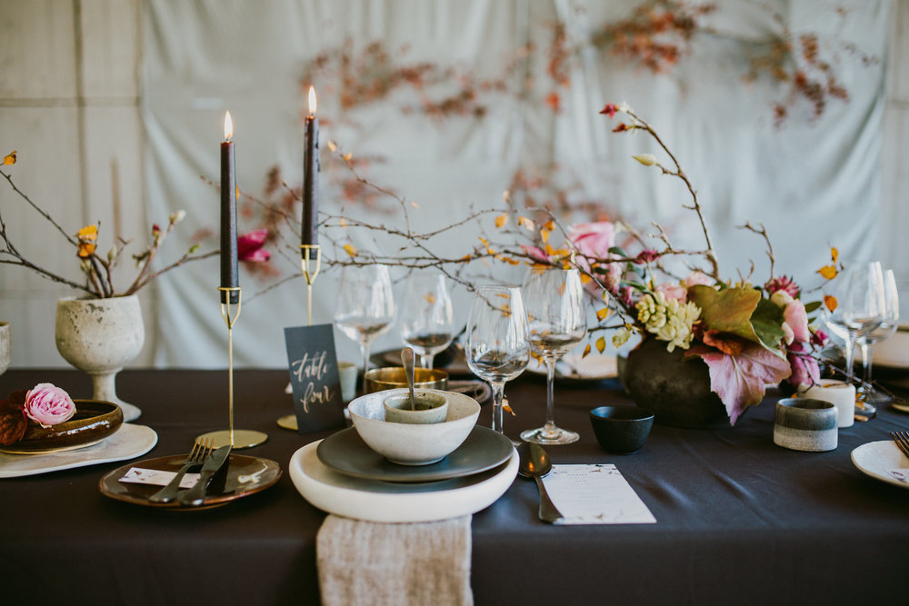 Wabi-Sabi, Winter Editorial, The Modern Heirloom 2016