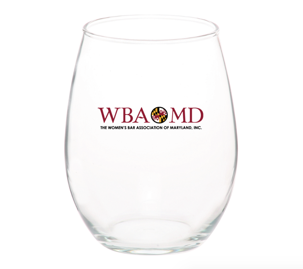 PURCHASE YOUR SIGNATURE WBA STEMLESS WINE GLASS FEATURING THE WBA'S NEW LOGO ($15) AT THE REGISTRATION TABLE OR AT THE BAR. QUANTITIES ARE LIMITED!