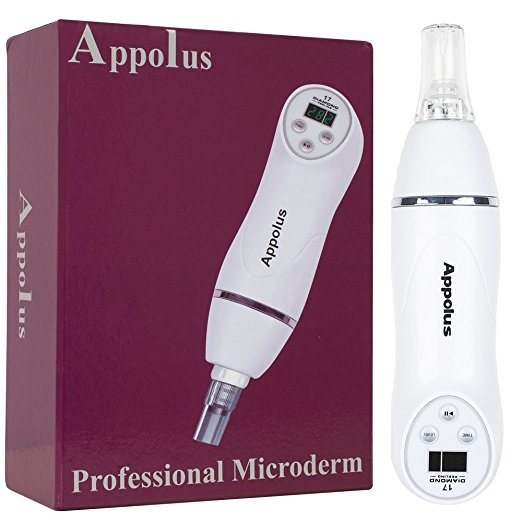 The Appolus Diamond Microdermabrasion Device Kit with Suction,  $59 on Amazon