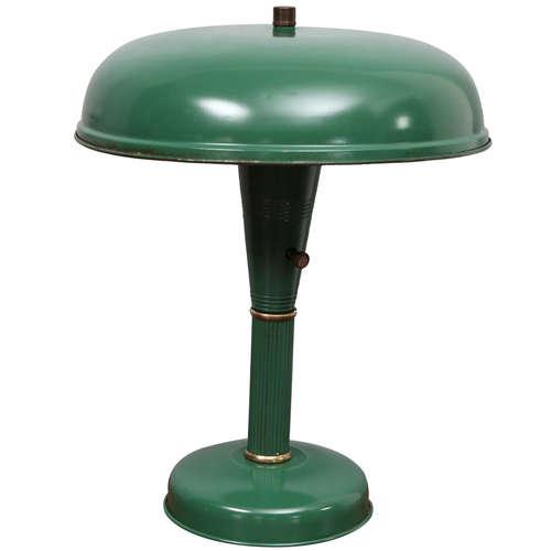 Painted Metal Desk Lamp - Painted Metal Desk Lamp — Jefferson West, Inc.