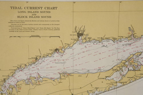 Set Of Long Island Tital Charts Or Maps Jefferson West Inc