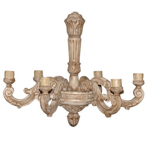 French carved wood chandelier jefferson west inc french carved wood chandelier aloadofball Gallery