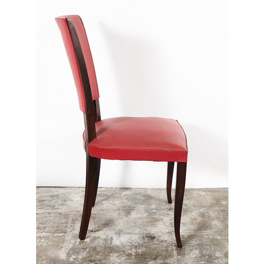 Art deco style furniture Metal Set Of Four Art Deco Style Chairs Emily Henderson Set Of Four Art Deco Style Chairs Jefferson West Inc