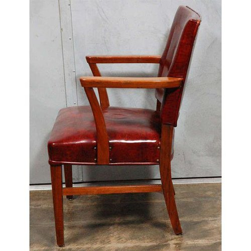 Pair of Antique Bankers Chairs - Pair Of Antique Bankers Chairs — Jefferson West, Inc.