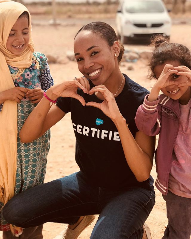 A ❤️ for service #morocco  #blacktravelfeed #travelabroad  #teachabroad #serviceabroad  #volunteer  #haititrip #outreach  #humitarian  #blacktravelmovement