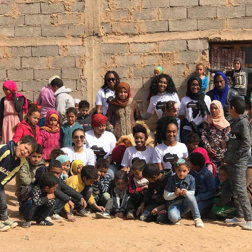 Destination Impact Volunteers - February 2019