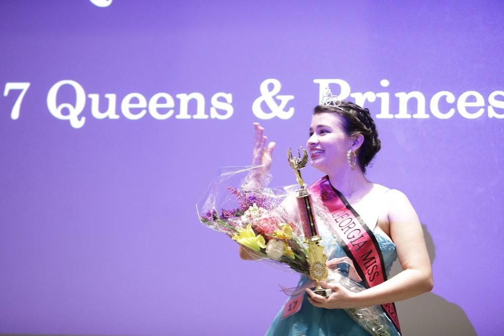 Montana Bush -our 2017 Junior Miss Queen