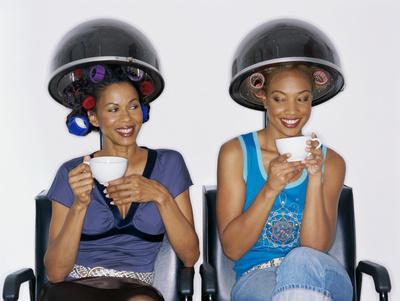 black women salon