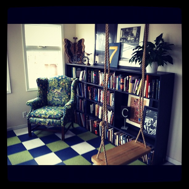 one of many reading nooks in my home :)