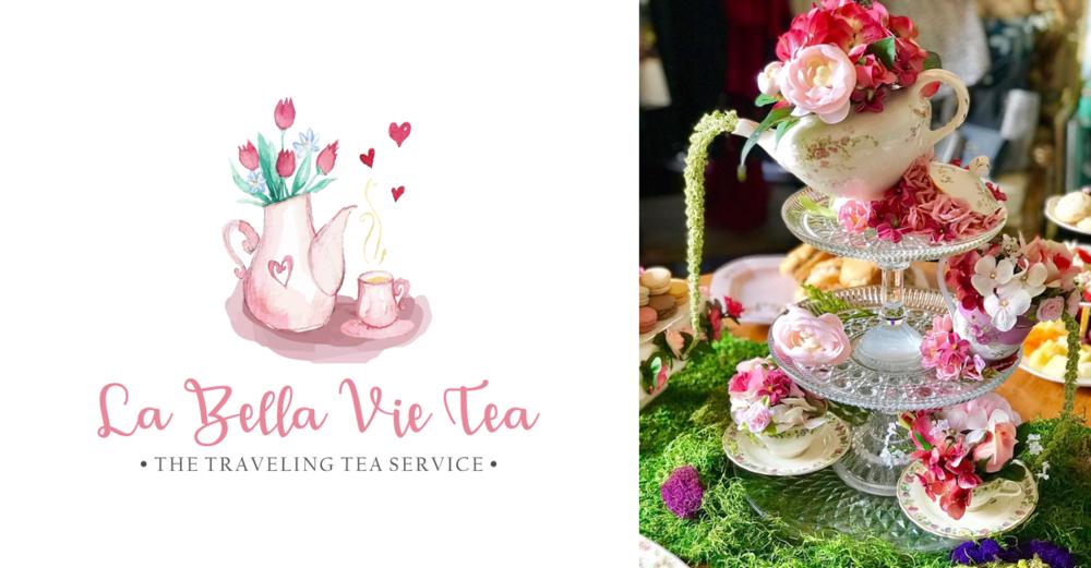 Frock Shop with La Bella Vie Tea