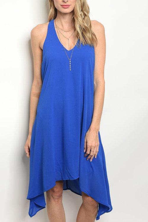 a3d3180ea5 Blue Drape Back Cocktail. Frock Shop Summer 201800002.jpg