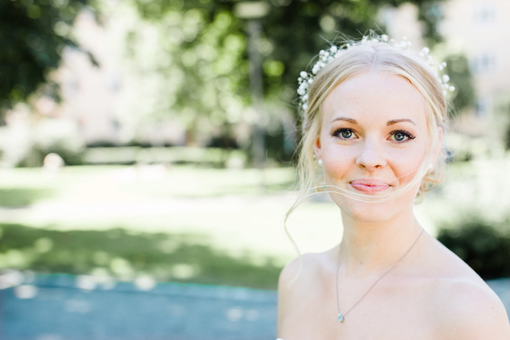 Bröllopsfotograf Västerås Rudbecksparken