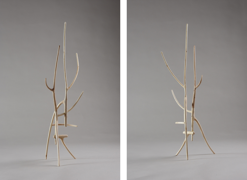 Tripod I , 18 1/2 inches, maple, 2015