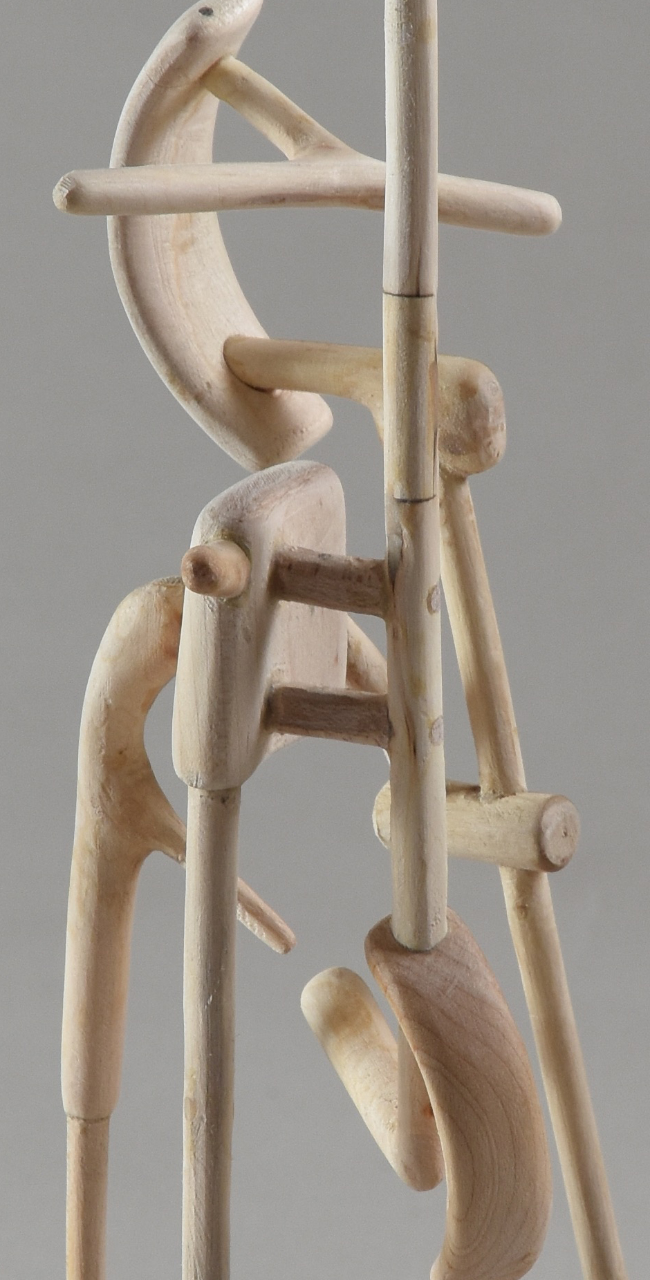 Tripod III,  DETAIL, maple, 2015