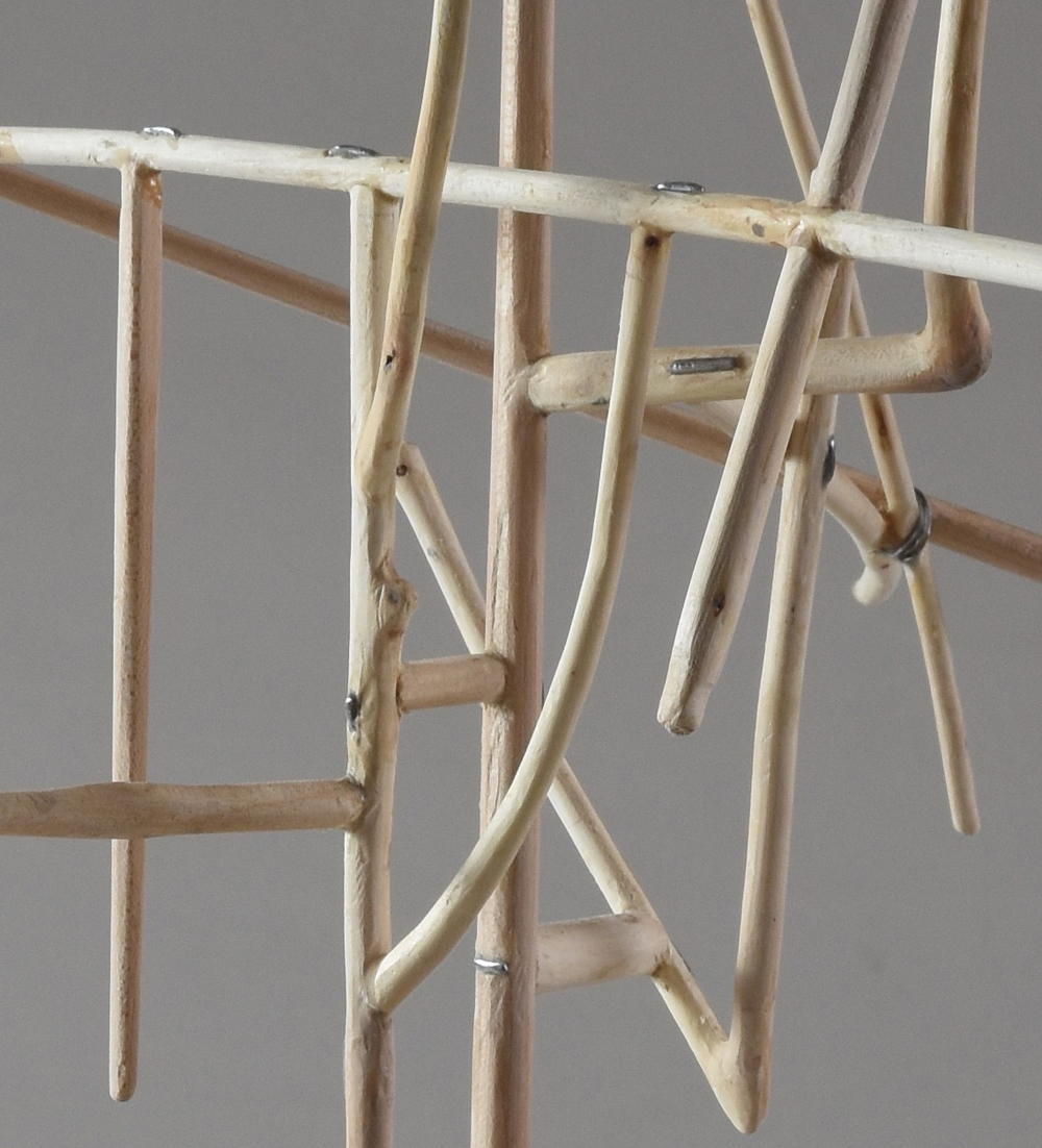Antenna,   DETAIL, maple, 2015