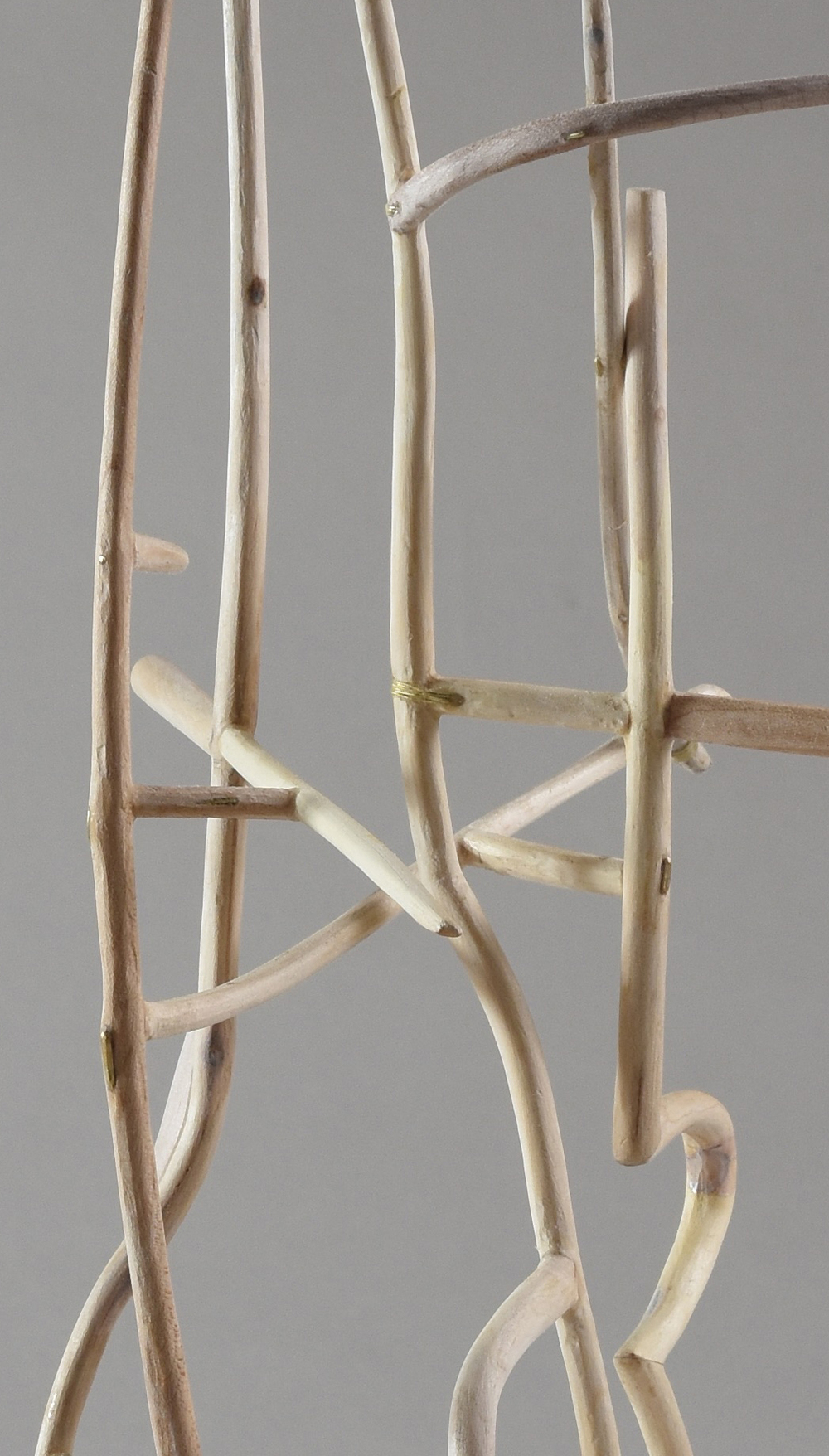The Tall Chair,  DETAIL,  maple, 2015